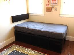ikea storage bed hack. Awesome Ikea Hack. DIY Compact Bed With Tons Of Storage, Using EXPEDIT. Storage Hack