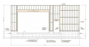 door threshold diagram landscape architecture diagram garage door header size lvl