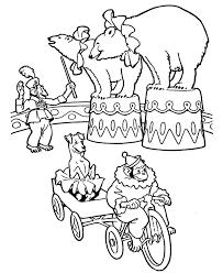 Animali Del Circo Disegni Per Bambini Da Colorare Gratis Disegni