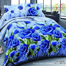 new style white red flower 3d bedding set of duvet cover bed sheet pillowcase bed clothes comforters cover queen no quilt bedding sets