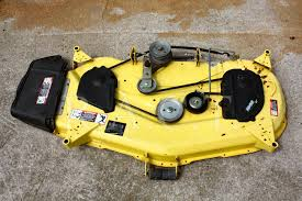 48 inch Mower Deck Parts for L130 as well  furthermore  in addition John Deere 757 Z Trak Mower Parts moreover John Deere Model L130 Lawn Tractor Parts as well John Deere Lawn Mower Blade For Lt Series With 48c Deck   John likewise Cub Cadet vs  John Deere besides John Deere 44 inch Snow Blower for 100 Series Tractor   7005M additionally How to Replace a PTO Clutch John Deere L120   eBay likewise  besides What is the best John Deere L120 Mower. on 2004 john deere l130 parts