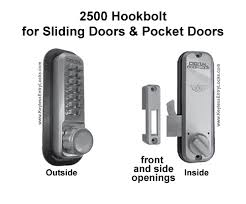 lockey 2500 surface mount hookbolt keypad lock
