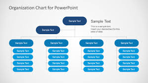 Org Chart Powerpoint Slide Simple Organizational Chart Template For Powerpoint
