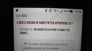 test à quel maison de poudlard appartiens tu test harry potter
