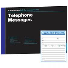 Telephone Message Rbe F4629 Rbe Telephone Message Book 6 To View Rbe
