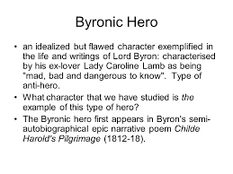keats ode to a grecian urn what is the stanza structure what is 10 byronic hero
