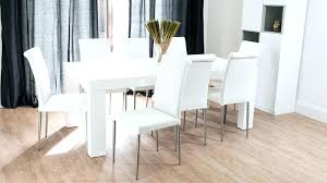 dining room inspiring white oak table and chairs set coastal beach round extendable 54