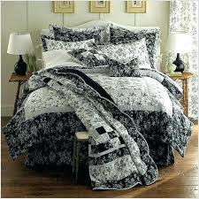 black and white toile bedding bedspreads and coverlets image of black and white bedding bedspreads and