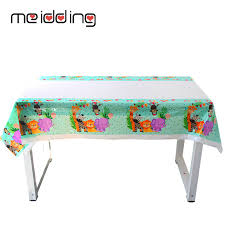 <b>Meidding</b> Jungle Safari Party Tableware Disposable Tablecloth Kids ...