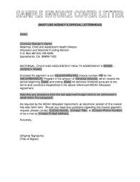 Word Doc Cover Letter Template Sample Invoice Cover Letter In Word And Pdf Ats Dex Doc
