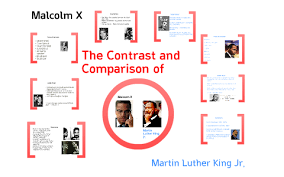 Mlk Vs Malcolm X Venn Diagram The Differences And Similarities Of Martin Luther King Jr