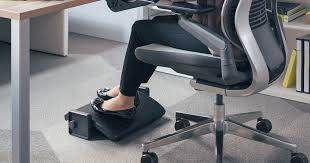 office chair footrest. when shopping for an ergonomic chair, adjustable desk, or a full set-up, it can be easy to focus on your back, shoulders, and neck overlook office chair footrest e