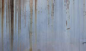 rusty corrugated metal texture 5