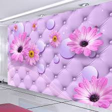 Purple Flower Wallpaper For Bedroom Popular Purple Bedroom Wallpaper Buy Cheap Purple Bedroom
