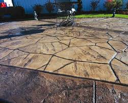 Backyard Concrete Designs Cool Photos Stamp Of Approval Stamped Concrete Designs Angie's List