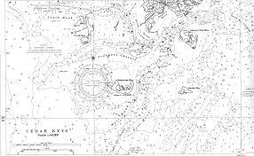 Cedar Key Area Road Nautical Guides Terrestrial Maps