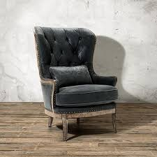 portsmouth 32 leather tufted chair in sierra range arhaus furniture
