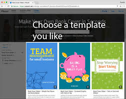 book cover page maker make a book cover easily with this tool placeit