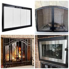 fireplace replacement doors. Replacement Glass Fireplace Doors