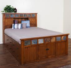 Sunny Designs Bedroom Furniture Similiar Captains Bed Queen Oak Keywords