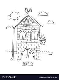 House Coloring Book Mouse Peeps Magic Tree Pages Colouring Adult