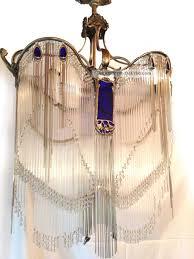 hector guimard lüster er re jugendstil art nouveau chandelier 1910 paris