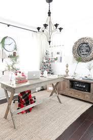 pretty office decor. Christmas Home Tour- Holiday Office Decor - Plum Pretty And Design E
