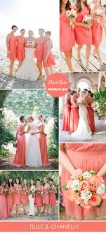Coral Color Combinations Top 10 Pantone Colors For Spring Summer Bridesmaid Dresses 2016
