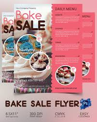 bake sale flyer templates bake sale fundraiser flyer template thatswhatsup design templates