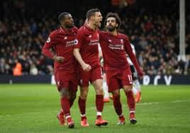 Head to head statistics and prediction, goals, past matches, actual form for premier league. Fulham 1 2 Liverpool Premier League As It Happened Football The Guardian