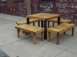 outdoor pallet furniture ideas. Pallet Outdoor Furniture Practical Yet Chic Ideas