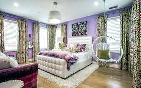 hanging chair for bedroom teens bedroom with purple walls carpet and see through swinging bubble hanging chair for bedroom