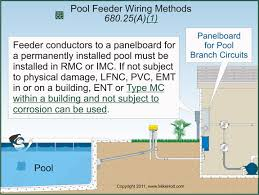 nec rules on swimming pools and spas electrical construction Swimming Pool Wiring Diagram Swimming Pool Wiring Diagram #5 swimming pool wiring diagram for 2 lights