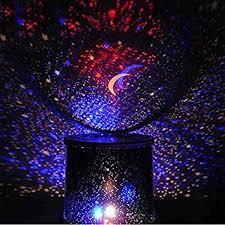 Lamp Decoration Design Amazon HuaYang Chic Design Star Sky LED Night Light Projector 7