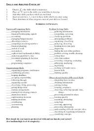 Examples Of Skills And Abilities On A Resume Resume Sample Nanny ...