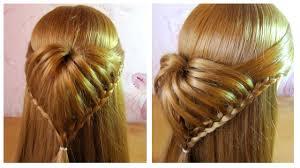 Coiffure Simple Cheveux Long Mi Long Romantique Sp Ciale