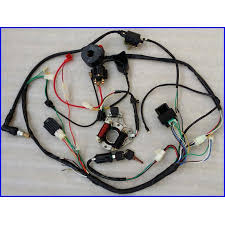 50 70 90 110cc wire harness wiring cdi assembly atv quad coolster Atv Wiring Harness click here to enlarge wiring harness for atv