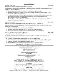doctor cv sample tips on getting an academic position resume template physician
