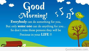 Inspirational Morning Quotes Beauteous Good Morning Quote With Inspiring Card