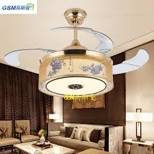 Chinese style living room ceiling Bedroom Invisible Fan Light New Chinese Style Living Room Restaurant Bedroom Ceiling Fan Light Led Light Frequency Globalmarketcom Usd 11734 Invisible Fan Light New Chinese Style Living Room