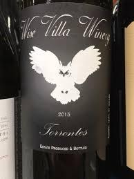 Wise Villa Winery Torrontes   Vivino
