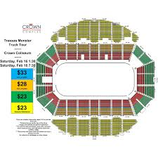 Crown Center Of Cumberland County Seating Chart Traxxas Monster Truck Tour Crown Complex