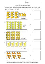 Simple Division Worksheets #3