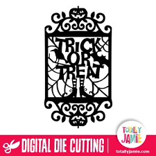 Halloween frame svg file filesize is 104.24kb, you can download this design file for free. Halloween Trick Or Treat Scene Vintage Frame Totallyjamie Svg Cut Files Graphic Sets Clip Arts