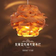 wood veneer lighting. Chinese Style Wooden Veneer Pendant Light Wood Lamp Bird\u0027s Nest -in Lights From \u0026 Lighting On Aliexpress.com | Alibaba Group S