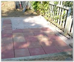 laying patio pavers on dirt page best home a paver