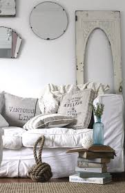 coastal chic living room inspired