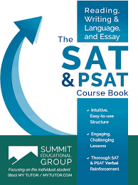 sat psat course book reading writing language and essay sat psat course book reading writing language and essay summit educational group