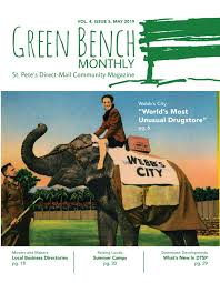 Morning Light Wellness Center St Petersburg Fl Green Bench Monthly Vol 4 Issue 5 May 2019 By Green