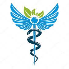 кадуцей татуировка символом кадуцей состоящий с ядовитые змеи и